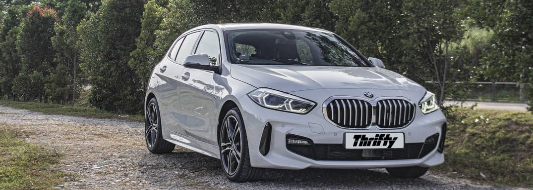 Car hire with BMW