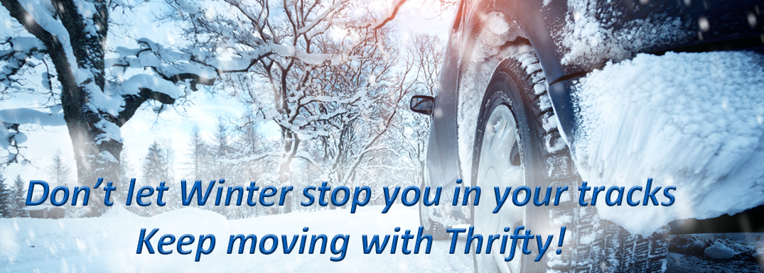 Keep moving with Thrifty Car and Van Rental