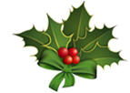 Thrifty Christmas Car Hire Holly Decoration
