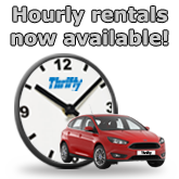 Thrifty Car and Van Hourly Rates