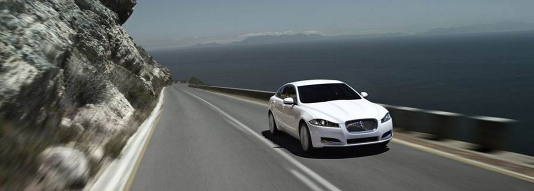 Luxury car hire with Jaguar